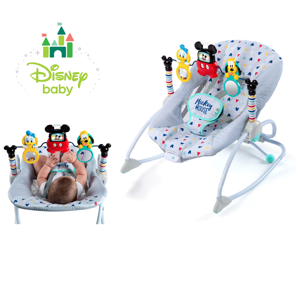 正規品 ディズニーベビー [ミッキーマウス・テイクアロング・ソングス・ロッカー] Disney baby ロッキングチェア