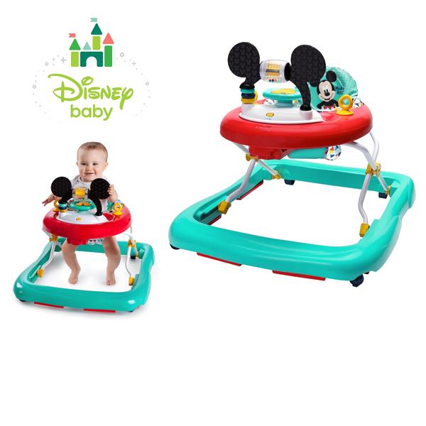正規品 ディズニーベビー [ミッキーマウス・ハッピートライアングル・ウォーカー] Disney baby 歩行器