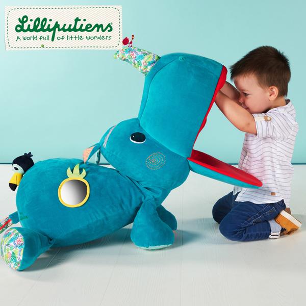 正規品 Lilliputiens(リリピュション) [ジャンボ・マリウス] 知育玩具 おもちゃ ぬいぐるみ