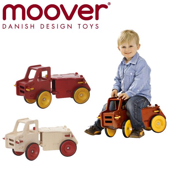 moover(ムーバー) [ダンプトラック] Dump Truck 木製玩具 乗り物 車 おもちゃ 乗用玩具 知育玩具
