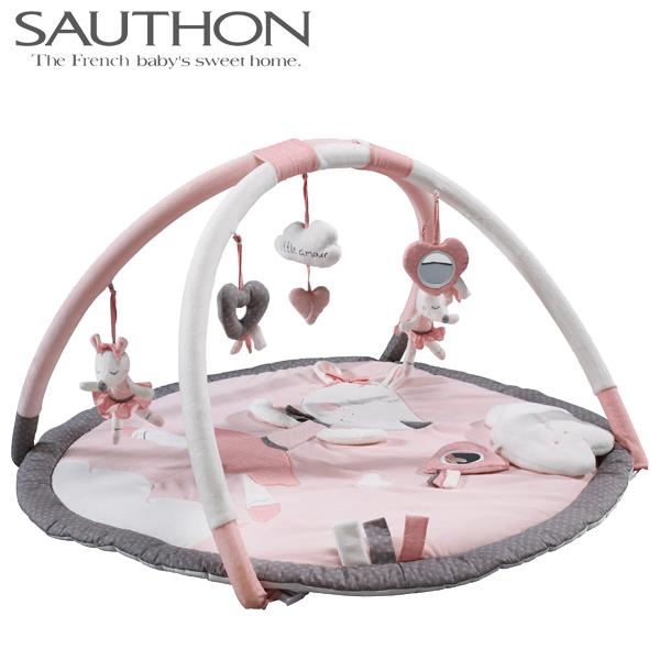 正規品 SAUTHON(ソトン) [プレイマット リリベル] ベビーマット プレイジム ベビージム