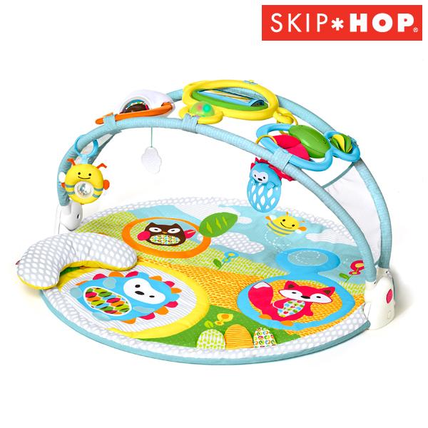 正規品 SKIP HOP(スキップホップ) [ツーステージ・ジム] ベビージム プレイマット マット ジム