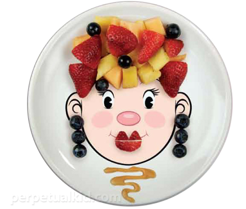 Humorous plate Fred (Fred) Mrs food face dinner plate  sc 1 st  Rakuten : food face dinner plate - pezcame.com