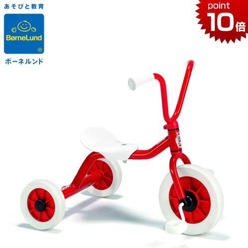 正規品 ボーネルンド [ペリカンデザイン三輪車 Vハンドル 赤] [おしりふきケースのプレゼント付き] [あす楽対応] ウィンザー Winther シンプル おしゃれ