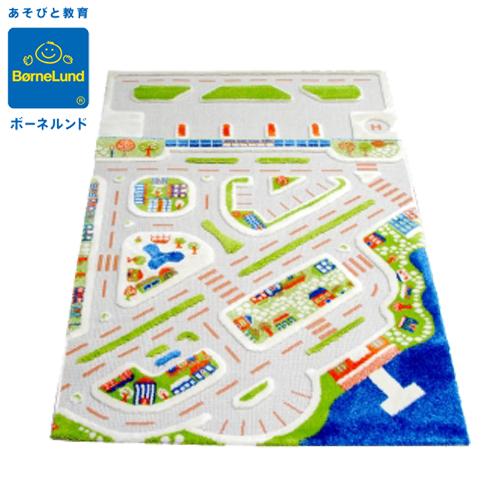 正規品 ボーネルンド [3Dプレイカーペット・ビッグシティ] [あす楽対応] プレイマット カーペット マット