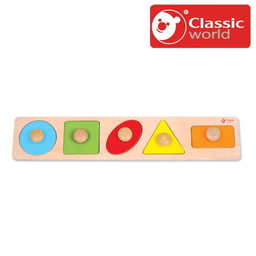 明るいカラフルな図形のペグパズルです 正規品 Classic クラシック ジオメトリー ペグパズル 在庫一掃 あす楽対応 木製玩具 知育玩具 ピックアップパズル 幼児 木のおもちゃ 『4年保証』 パズル