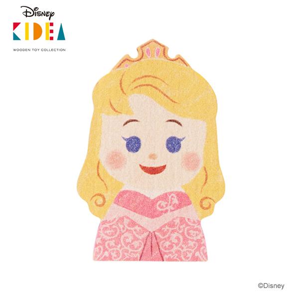 ギフト プレゼント ご褒美 奉呈 世代を超えて楽しんでいただける高品質な木製玩具シリーズ 正規品 Disney KIDEA キディア オーロラ姫 木のおもちゃ つみき 積み木 木製玩具 あす楽対応