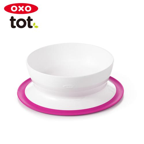テーブルにくっつくボウル 正規品 OXO Tot オクソートット あす楽対応 オリジナル くっつくシリアルボウル 35%OFF ピンク
