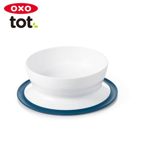 テーブルにくっつくボウル 正規品 有名な OXO Tot くっつくシリアルボウル オクソートット クリアランスsale 期間限定 ネイビー あす楽対応