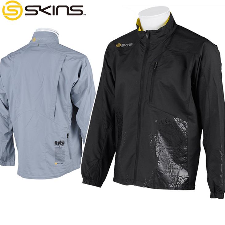 スキンズ skins トレーニングウェア ウィンドジャケット Synchro (シンクロ ) メンズ 【SRS5501】【メール便可】【返品種別OUTLET】