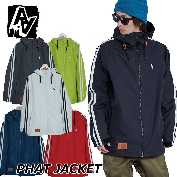 19-20 AA ダブルエー メンズ ウェアー 【phat JACKET 】ファットジャケット スノーボード SNOW WEAR 入荷済み ship1