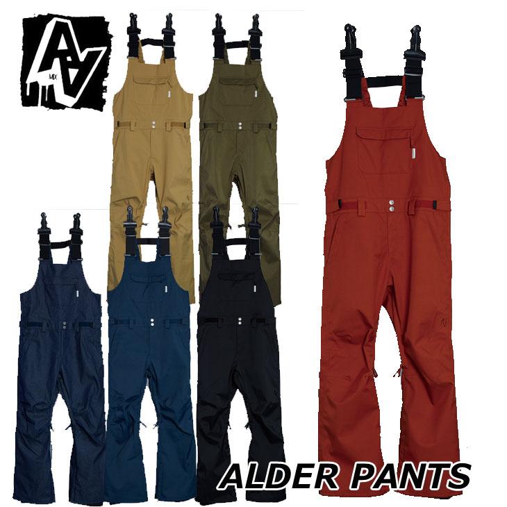 19-20 AA ダブルエー メンズ ウェアー 【ALDER PANTS 】アルダーパンツ スノーボード SNOW WEAR 入荷済み ship1