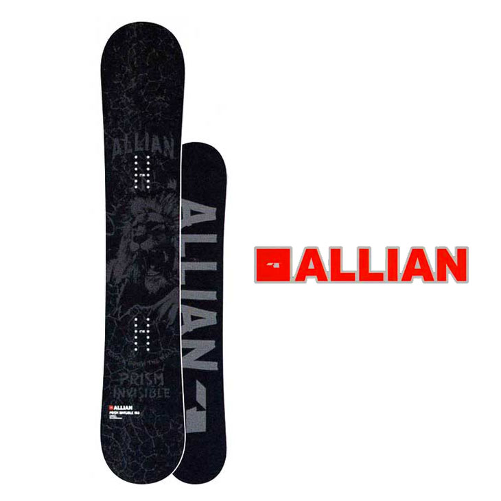 18-19ALLIAN(アライアン)【PRISMINVISIBLE】プリズムインビジブルスノーボード板snowboard予約販売品