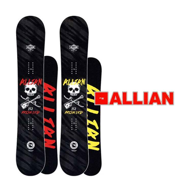 18-19 ALLIAN (アライアン )【PRISM LTD 】プリズム リミテッド スノーボード 板 snow board ship1【返品種別OUTLET】