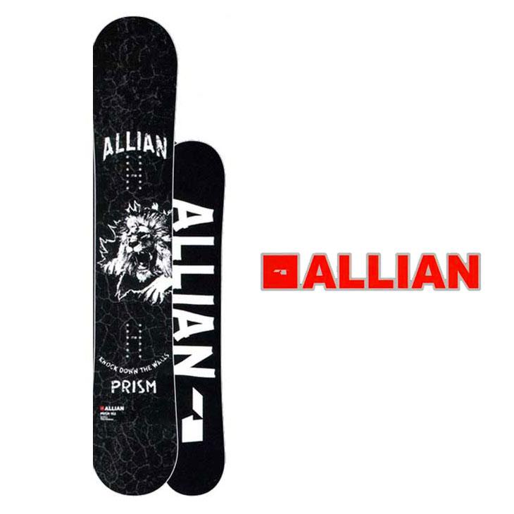 18-19 ALLIAN (アライアン )【PRISM 】プリズム スノーボード 板 snow board 予約販売品 ship1