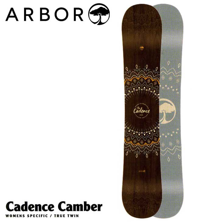 18-19 ARBOR (アーバー ) 【Cadence Camber 】 キャンバー レディース スノーボード 板 snow board 【返品種別OUTLET】
