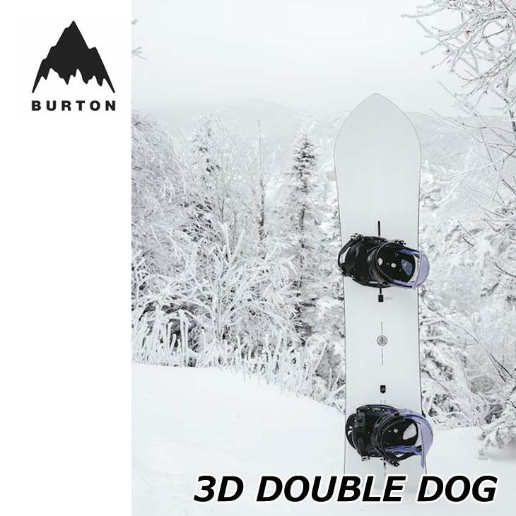 正規逆輸入品 2021-22 バートン メンズ スノーボード 板 21-22 爆買いセール ダブルドッグ DOGship1 BURTON DOUBLE ファミリーツリー 3D