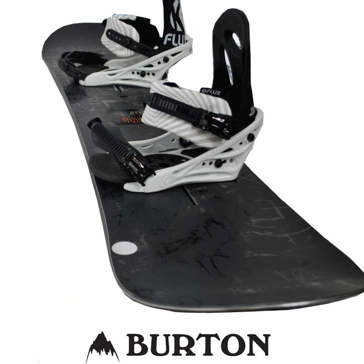 新到着 バートン セット スノーボード 板 BURTON ビン FLUX 2点セット 17-18【AMPLIFIER 】ボード × 18-19【FLUX PR 】ビンディング ship1, ネムロシ ce5d0ec9