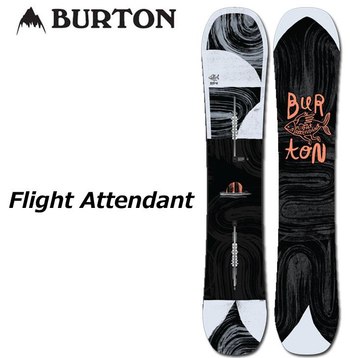 【話題のスマホレンズプレゼント】19-20 BURTON バートン メンズ スノーボード 【Flight Attendant 】 ship1