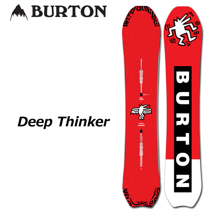 【話題のスマホレンズプレゼント】19-20 BURTON バートン メンズ スノーボード 【Deep Thinker 】 ship1