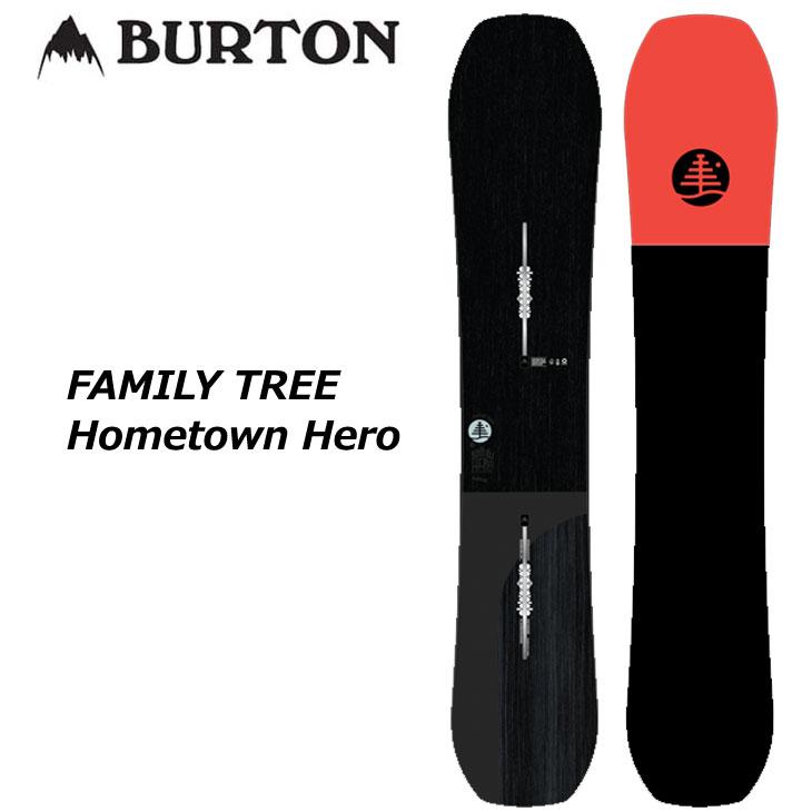 【話題のスマホレンズプレゼント】19-20 BURTON バートン メンズ スノーボード 【FAMILY TREE Hometown Hero 】 ship1