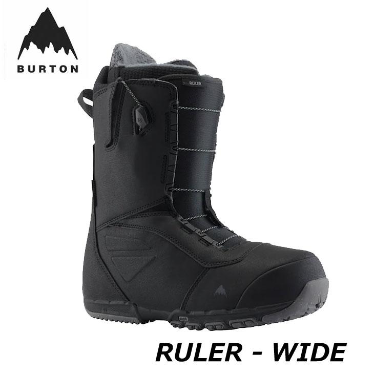 ふるさと割 2020-2021 BURTON boots スノーボード ブーツ 20-21 バートン ship1 在庫一掃売り切りセール ルーラー メンズ 返品種別OUTLET ワイド日本正規品 RULER-WIDE