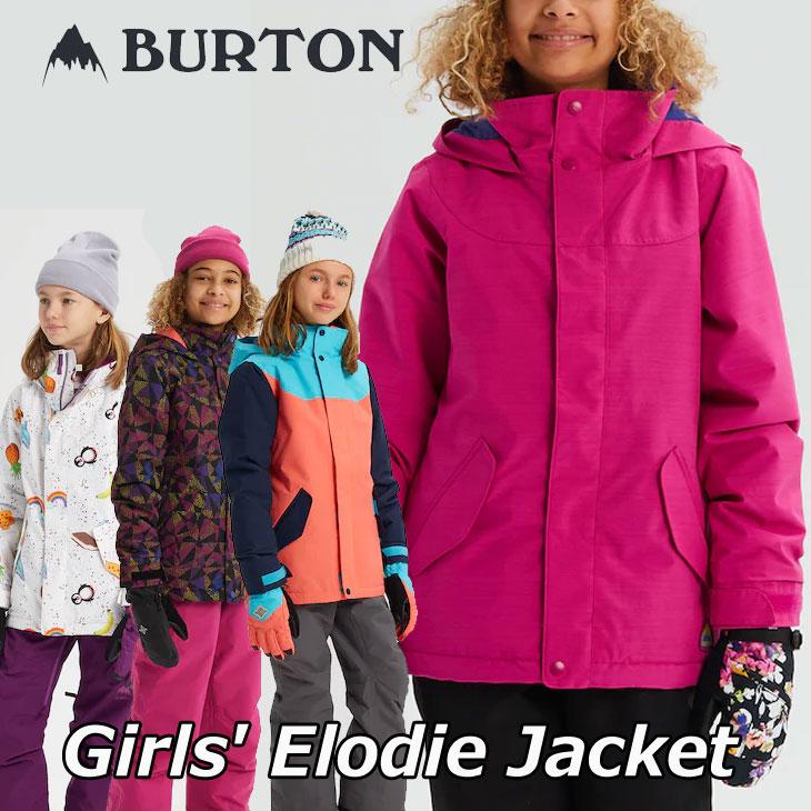 19-20 BURTON バートン キッズ スノーボード ジャケット Girls【Elodie Jacket 】(110/126/140/150/164) 日本正規品【返品種別OUTLET】