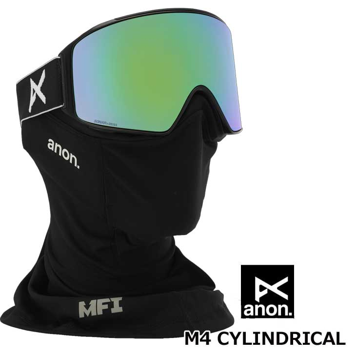 18-19 ANON アノン Men's Anon M4 Goggle - Cylindrical LensASIAN FIT ship1【返品種別OUTLET】