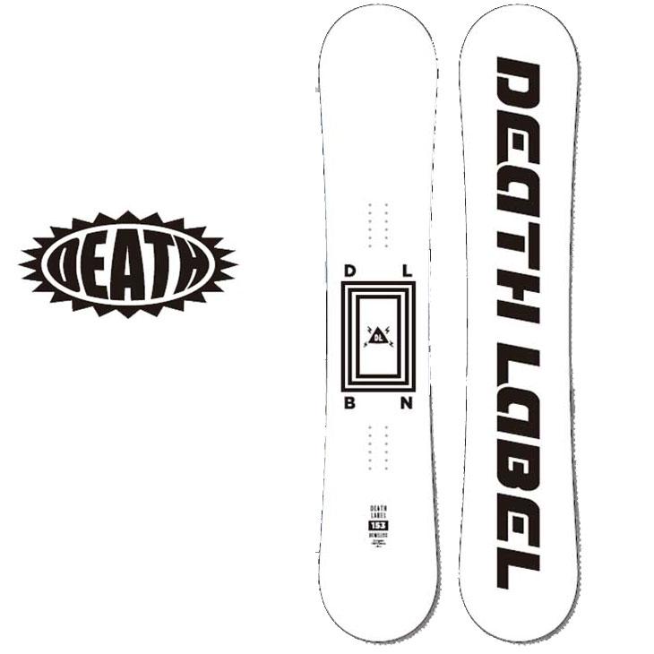 18-19 DEATH LABEL ( デスレーベル )【BONELESS 】 ボーンレス スノーボード 板 snow board ship1