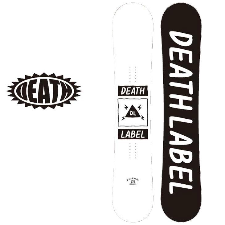 18-19 DEATH LABEL ( デスレーベル )【BLACK FLAG DW 】 ブラックフラッグ スノーボード 板 snow board ship1