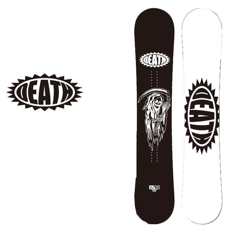 18-19 DEATH LABEL ( デスレーベル )【DEATH SERIES LTD BLK 】 デスシリーズ リミテッド ブラック スノーボード 板 snow board ship1