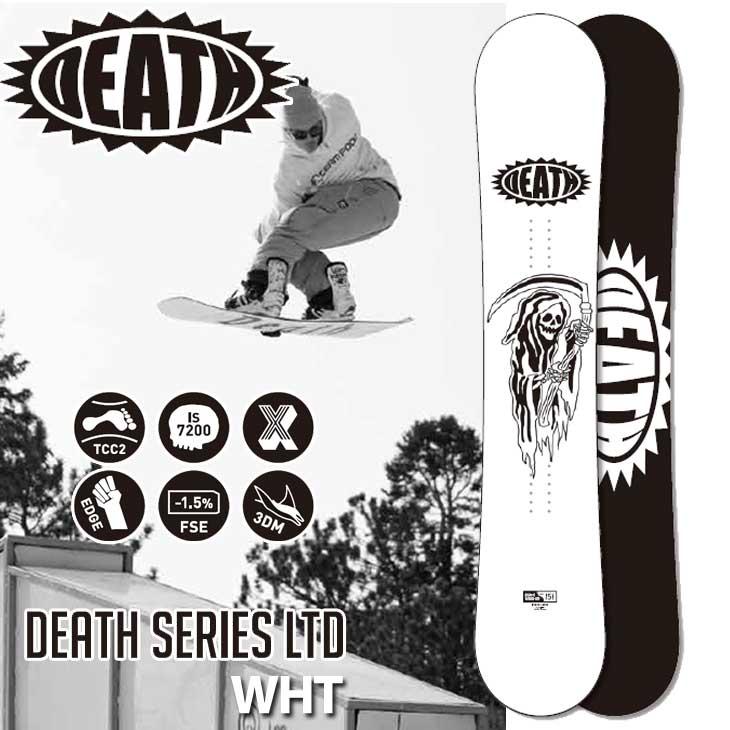 18-19 DEATH LABEL ( デスレーベル )【DEATH SERIES LTD WHT 】 デスシリーズ リミテッド ホワイト スノーボード 板 snow board ship1
