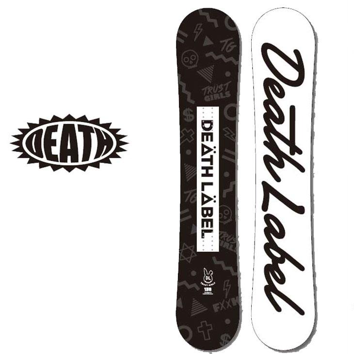 18-19 DEATH LABEL ( デスレーベル )レディース 【TRUST GIRLS 】 トラストガールズ スノーボード 板 snow board ship1