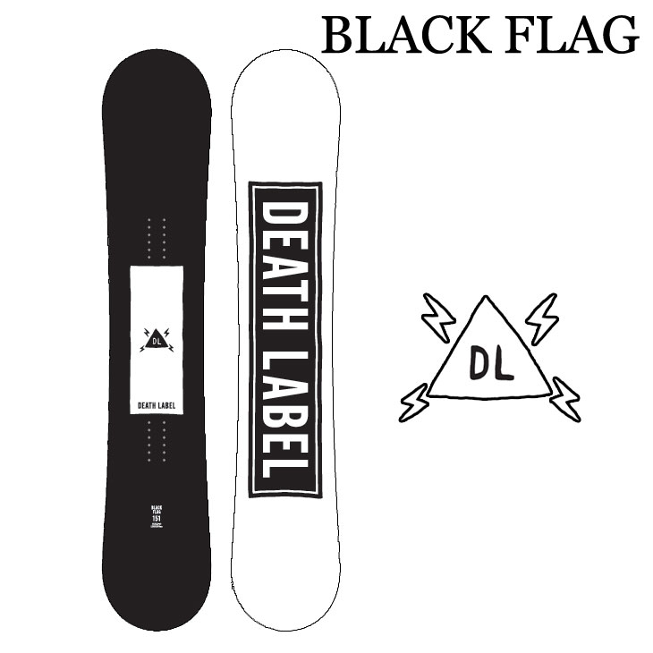 19-20 DEATH LABEL デスレーベル BLACK FLAG ブラックフラッグ 予約販売品 ship1
