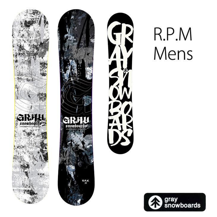 19-20 GRAY SNOWBOARDS グレイ R.P.M. MENS アールピーエム 予約販売品 ship1