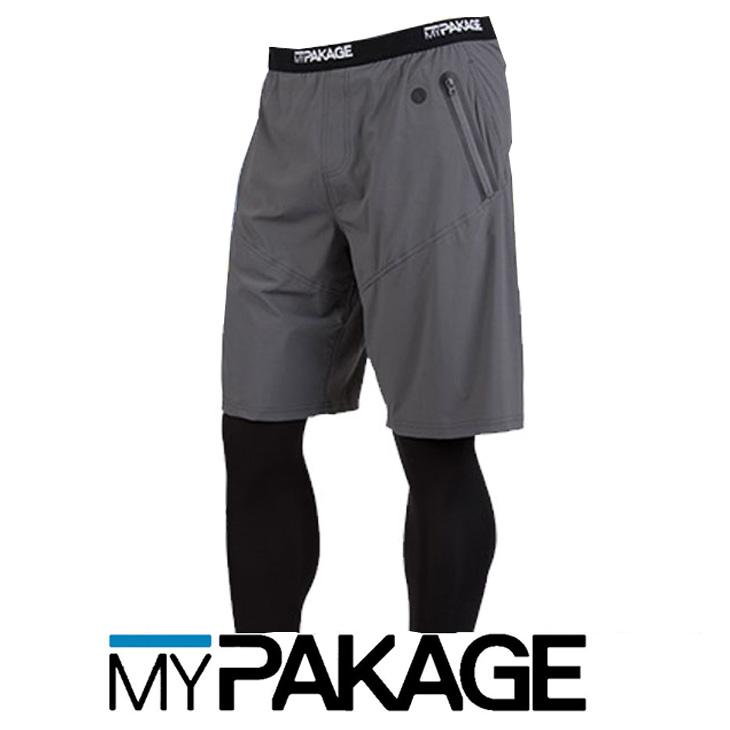 MYPAKAGE マイパッケージ PRO-X 2-IN-1 FULL LENGTH メンズロングタイツ