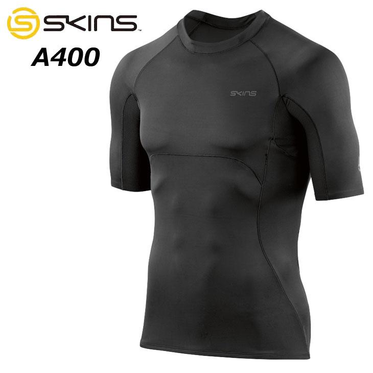 スキンズ SKINS A400 ULTIMATE メンズ ショートスリーブトップ゜ (19SS)DU01049001 コンプレッション