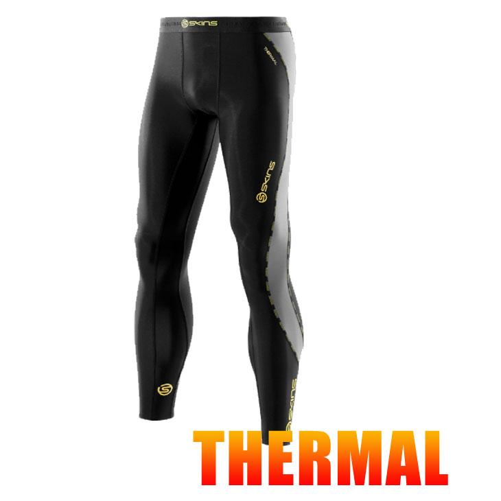 スキンズ メンズ サーマル ロングタイツ skins DNAmic コンプレッション 【正規品】【冬モデル】