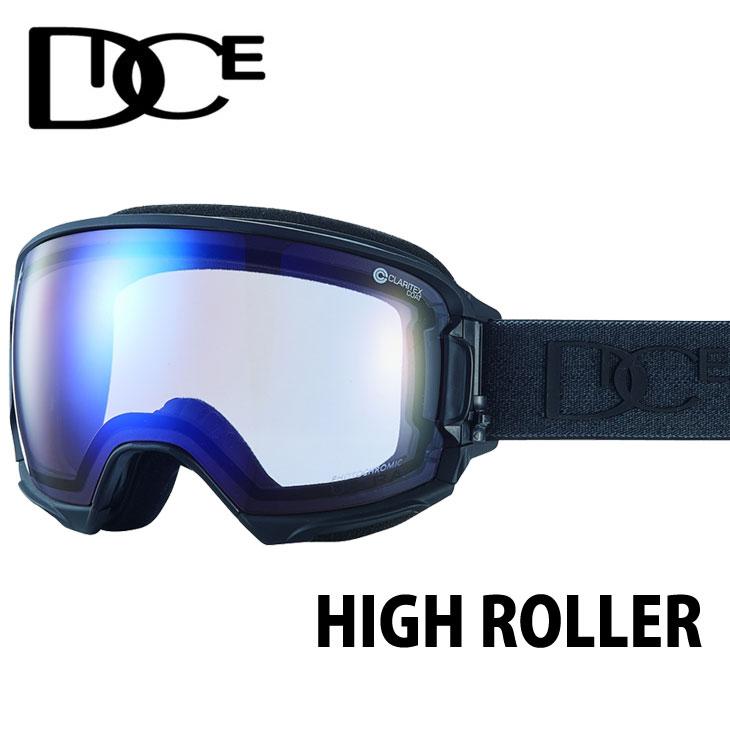 18-19 DICE ダイス 調光レンズ HIGH ROLLER ハイローラー スノーボード ゴーグル ship1