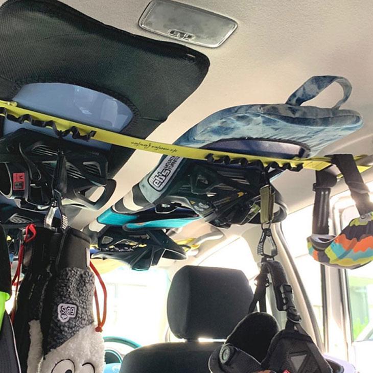 車内キャリアー キャリーテープ ベルト eb's 21-22 エビス 至上 ebs 完売 予約販売品 車載ロープ ハンギングテープ TAPE 11月入荷予定 HANGING