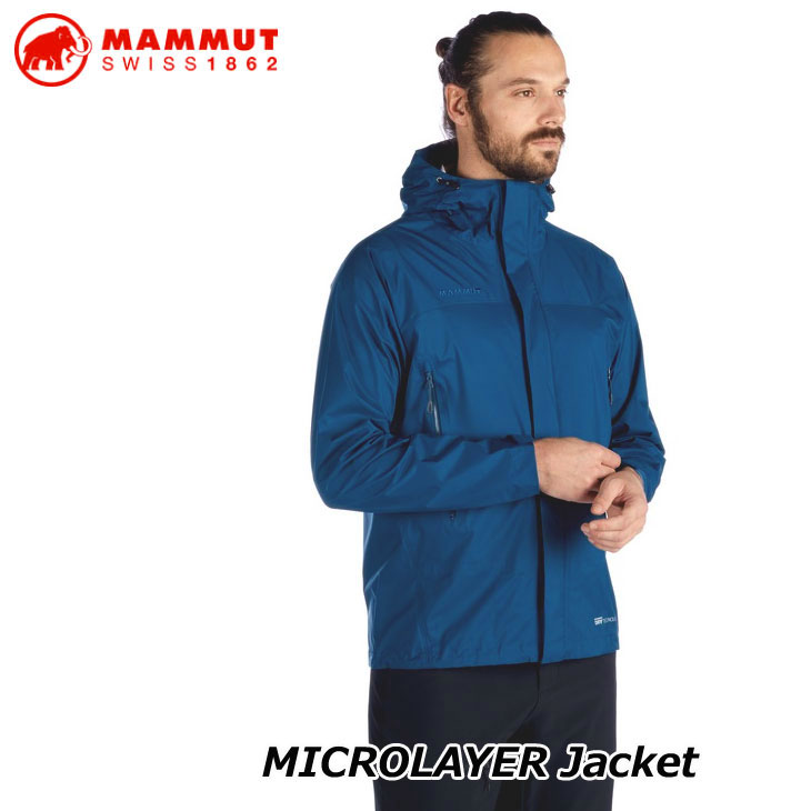 MAMMUT マムート ハイキング 登山 ジャケットMICROLAYER Jacket AF Men 正規品 ship1