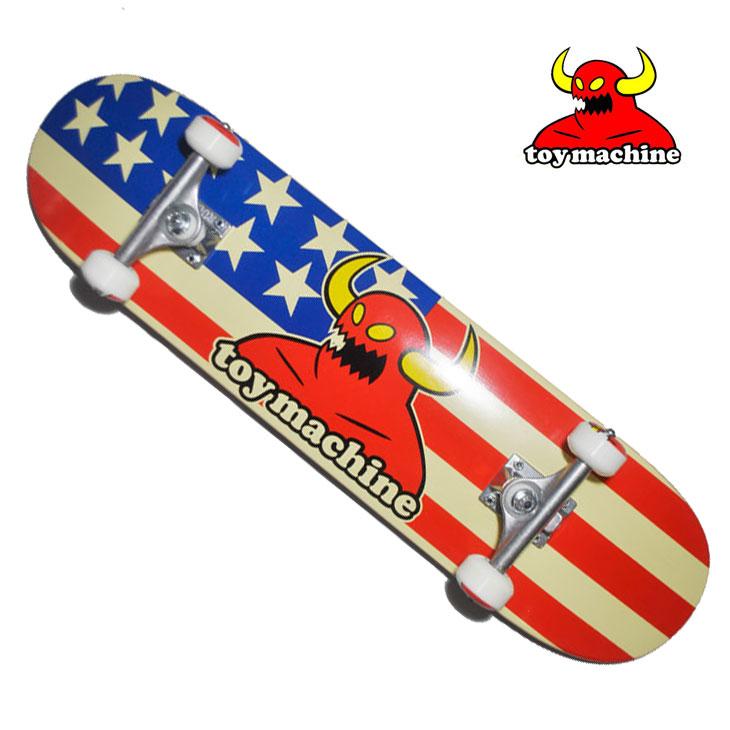 スケートボード コンプリート TOY MACHINE トイマシーン AMERICAN MONSTER 7.75 アメリカンモンスター スケボー SKATE COMPLETE 完成品