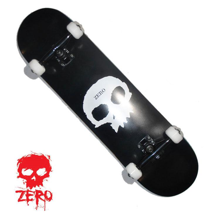 スケートボード コンプリート ZERO ゼロ SINGLE SKULL 8.0 シングルスカル 完成品