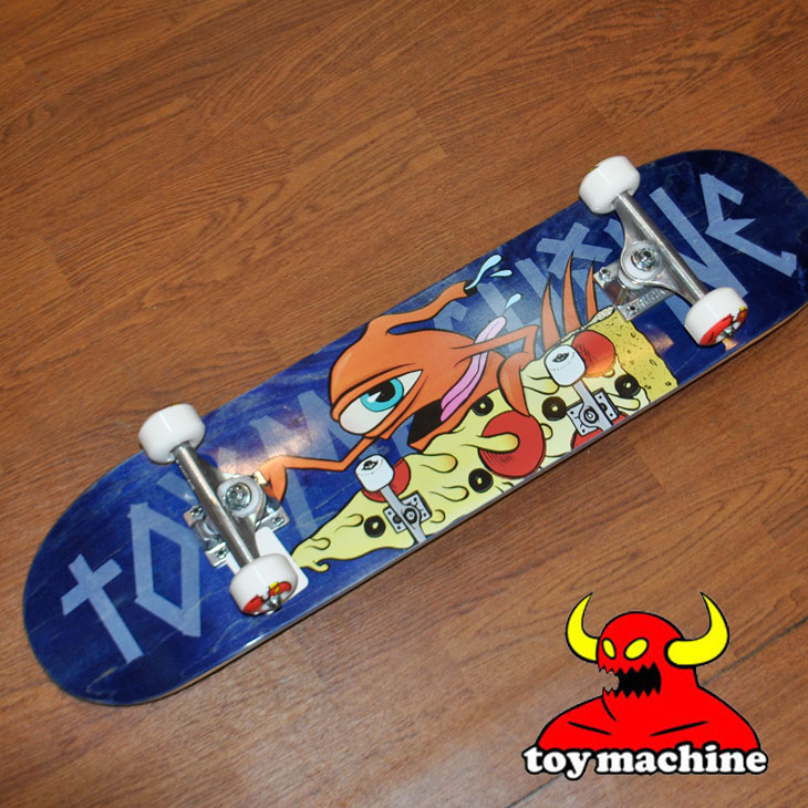スケートボード コンプリート TOY MACHINE トイマシーン PIZZA SECT #2 7.75 ピザセクト ピッツァ ship1