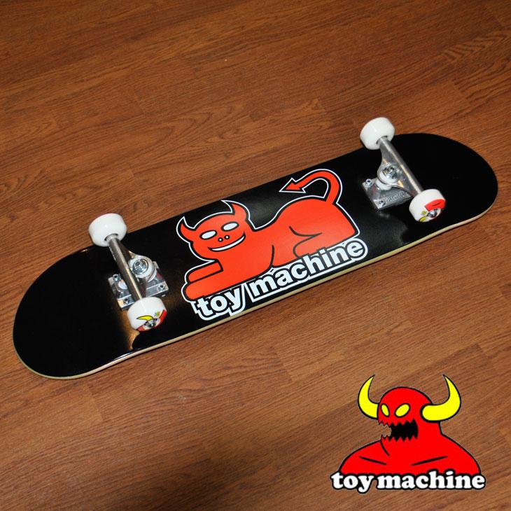 スケートボード コンプリート TOY MACHINE トイマシーン DEVIL CAT 7.625 デビルキャット ship1