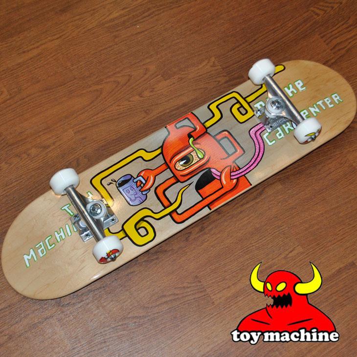 スケートボード コンプリート TOY MACHINE トイマシーン CARPENTER SQUARED 7.625 カーペンター スクエアド ship1