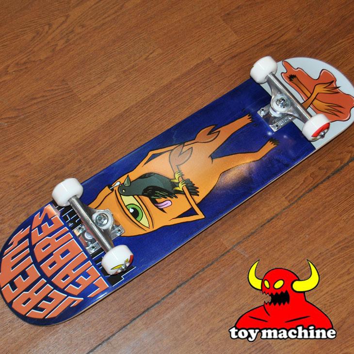 スケートボード コンプリート TOY MACHINE トイマシーン LEABRES CHOPPED 7.875 レアブレス チョップド ship1