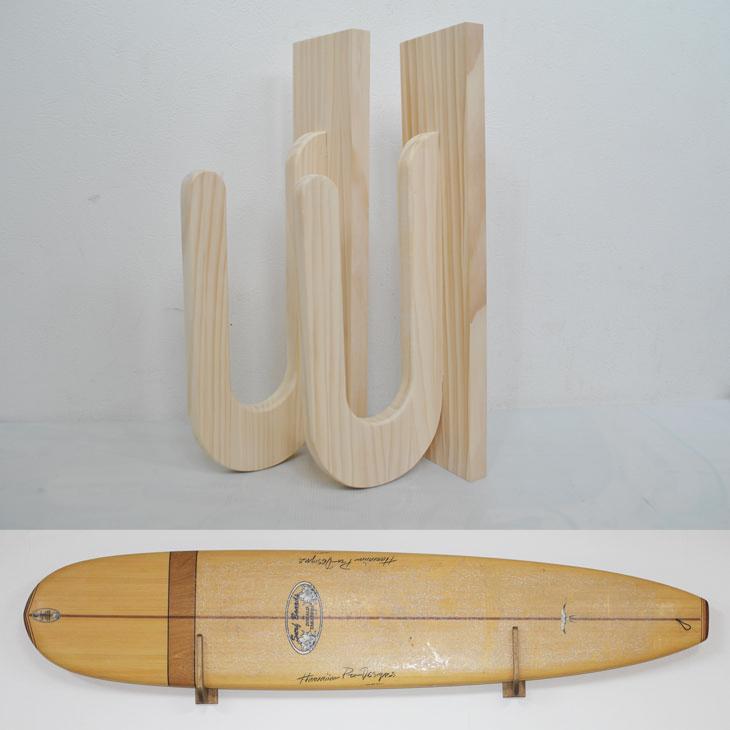 サーフボードラック Easy Rack for Board 壁掛け パラレルタイプ Parallel Type 【ホワイト】Aqua Rideo アクアリデオ イージーラック 壁美人 【お取り寄せ商品】 ship1