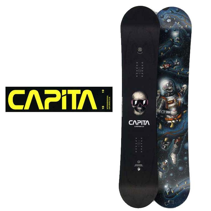 18-19 CAPiTA ( キャピタ ) 【SCOTT STEAVENS PRO 】 スコット スティーブンス プロ スノーボード 板 snow board 予約販売品 ship1