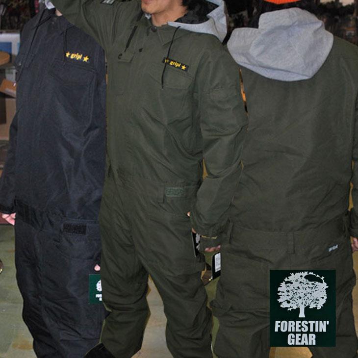 FORESTIN GEAR フォレスティン ギア メンズ 16-17モデル【FGRO16-02 】 つなぎ ワンピース ワークウエア スノーボード 【返品種別OUTLET】 ship1